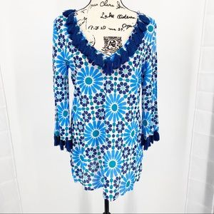 Mudpie Beach to Bar Kendall Pool Tile Tunic Cover
